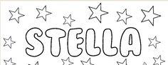 Stella Kid Names, Arabic Calligraphy, Math, First Names, Math Resources, Arabic Calligraphy Art, Baby Names, Mathematics