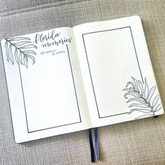 I set aside a few pages in my journal to record memories from our vacation with family. Swipe to see it filled in! Bullet Journal Page, Bullet Journal Writing, Bullet Journal Themes, Bullet Journal Spread, Bullet Journal Inspiration, Journal Pages, Journals, Bullet Journel, Bullet Journal Aesthetic