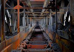 Coal Chute: Huber Breaker: Ashley, PA. Photo by Ken Evans