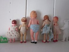 Go back to school. Dolls are so sad...