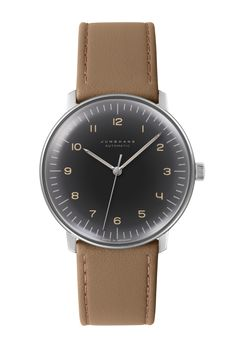 6b54018bb Max Bill Automatic Anthracite-Grey Dial Numerals by Junghans