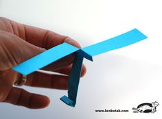 DIY paper helicopter