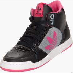 Womens Adidas Originals Midiru Court 2.0 Trefoil ($70) ❤ liked on Polyvore