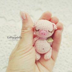 Little pig amigurumi pattern #amigurumi #amigurumipattern #crochettoy
