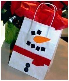 Snowman Sack (56 pieces)