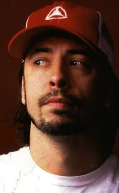 Dave Grohl; a very pensive but gorgeous DG!