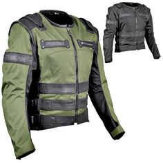 Motorcycle Jacket Green | Outdoor Jacket