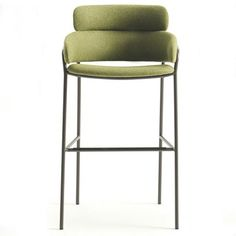 strike upholstered stool