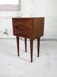 cassettiera da camera paese italia anni 60 colore marrone in legno ... - Cassettiera Da Camera