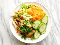 Lemongrass Chicken Banh Mi Salad
