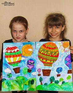 Art Lessons For Kids, Kids Art Class, Art For Kids, Crafts For Kids, Arts And Crafts, Spring Art Projects, Cool Art Projects, Art Drawings For Kids, Drawing For Kids