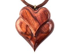 Jewelry Wood Carving curated by The Wood Carvers of Etsy on Etsy