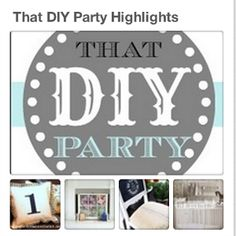 THAT DIY PARTY - sharing DIY projects every week!