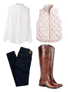 """""""We're Back"""" by missdarlington on Polyvore featuring J.Crew, T By Alexander Wang, American Eagle Outfitters, Sole Society and Fall"""