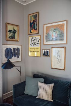 Home Tour with Anders Forup in Copenhagen Home Tour with Anders Fo. - Home Tour with Anders Forup in Copenhagen Home Tour with Anders Forup in Copenhagen – vintage art poster Decoration Hall, Decoration Photo, Decoration Inspiration, Decoration Design, Deco Design, Decor Ideas, Bedroom Decor For Couples, Diy Bedroom Decor, Living Room Decor