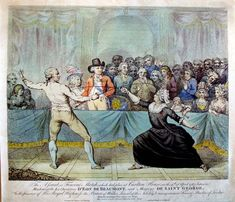 Duel between the Chevalier St Georges and the Chevalier d'Eon, 1787, at Carlton House.