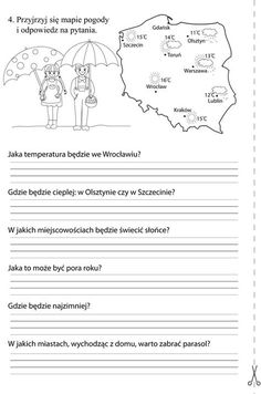 To zrobię ; Learn Polish, Teacher Morale, Polish Language, Kids Education, Kids Playing, Teaching Resources, Worksheets, Activities For Kids, Homeschool