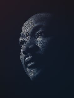 """This is incredible! Martin Luther King ilustrated entirely by his words. """"A Great Man Once Said... by ~Lavoi on deviantART"""