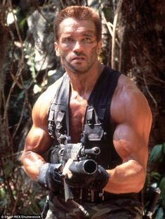 Team leader: Major Alan 'Dutch' Schaefer, played by Schwarzenegger, was the leader of an elite special forces team that found itself stalked by an alien hunter in the 1987 sci-fi action film Predator