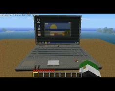 Let's play minecraft in minecraft