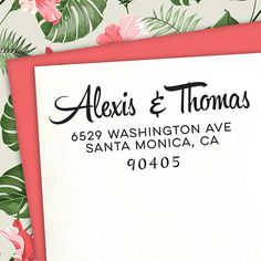Hipster Custom Address stamp Housewarming Gifts Wedding Wedding Stamps, Wedding Invitations, Customized Gifts, Personalized Gifts, Holiday Cards, Holiday Gifts, Unique Wedding Stationery, Save The Date Stamp, Custom Return Address Stamp