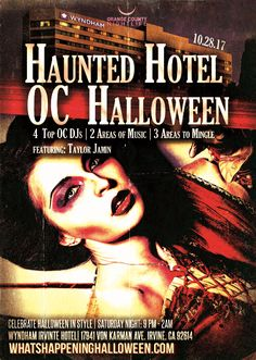 """3rd Annual """"The Haunted OC Hotel"""" Halloween Party & Costume Ball at Wyndham Irvine Hotel - OC's #1 Costume & Halloween Party - Oct 28, 2017 at Wyndham Irvine on 10/28/17, at 9 p.m."""