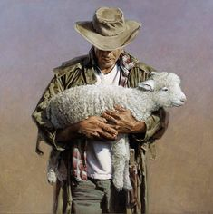 Barry Ross - The Sheep Farmer Farm Photography, Artistic Photography, Farmer Painting, New Zealand Art, Native American Photos, Kiwiana, Artist Gallery, Pet Birds, Unique Art