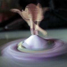ballerina trottola origami! fatte a mano da Opificio Imaginarium