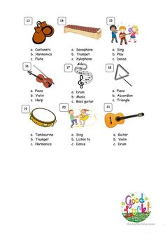 This is a short test for checking the vocabulary related to music. Music Flashcards, Music Worksheets, Bass Guitar Case, Bass Guitar Lessons, Music Lesson Plans, Music Lessons, Teaching Jobs, Teaching Music, Elementary Music