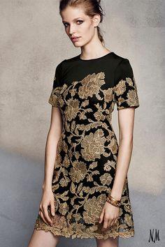 9dee062a019 Tadashi Shoji Short-Sleeve Embroidered Cocktail Dress