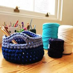 Easy Crochet Basket Pattern – hollypips