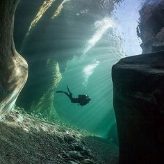 Wow! Verzasca River, Switzerland. Pic by Marc Henauer.