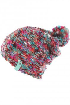 Billabong Freedom Beanie women (multico) | #skatedeluxe #sk8dlx #billabong