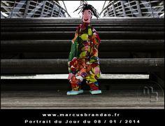Portrait du jour janvier 2014– Photos du mois dejanvier 2014duprojet «Portrait du jour».