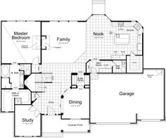 floor plan.. a few changes though. laundry on main floor and no detached dining room