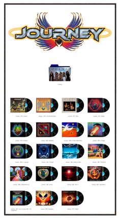 Album Art Icons: Journey