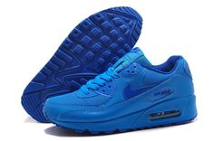 Great New Nike Air Max 90 for Women Shoes Dark Blue Online Wholesale at Online Shop