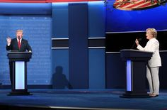 VIDEO SCREEN CAP: Donald J. Trump and Hillary Clinton met in a 90-minute debate at the University of Nevada, Las Vegas, on Wednesday that began cordially but quickly swerved to personal attacks.