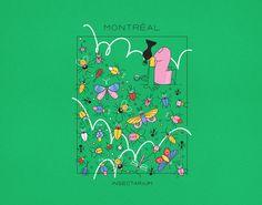 Montreal - Espace Pour La Vie cards on Behance