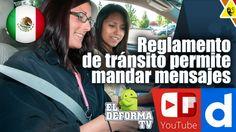 Nuevo reglamento de tránsito permite mandar mensajes mientras manejas