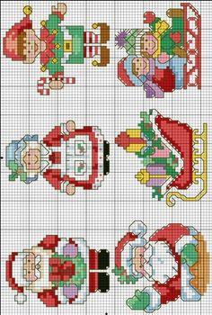 New Embroidery Patterns Cross Stitch Christmas 18 Ideas Cross Stitch Christmas Cards, Xmas Cross Stitch, Cross Stitch Bookmarks, Cross Stitch Cards, Beaded Cross Stitch, Cross Stitch Borders, Cross Stitch Alphabet, Crochet Cross, Counted Cross Stitch Patterns