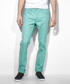 This is the absolute perfect color of blue. Levi's 511™ Slim Fit Commuter Pants - Oil Blue - Jeans