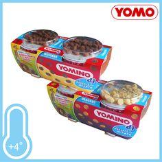 Yomo, Yomino DJ Dessert. La merenda buona e divertente con i suoi biscottini golosi. Gusti Vaniglia e Crema Cioccolato. Confezione 2xgr.100 a solo € 0,89!!!