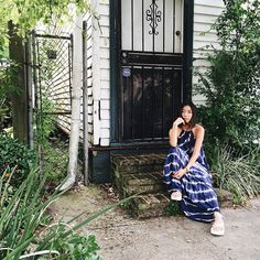 """New Orleans greenery with Teva"" - Honey & Silk"