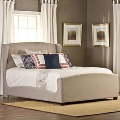 jcpenney.com | Darcy Upholstered Wingback Bed