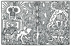 Hidden - Image with : Keith Haring, From the gallery : Pop Art