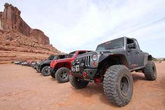 Rancho #Jeep JK w/ Bushwacker Flat Style Fender Flares
