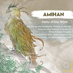 "Amihan saved our ancestors, ""Malakas and Maganda"" from the confinement of a bamboo.She is one of the first three creatures in the world. Filipino Words, Filipino Art, Filipino Culture, Philippine Mythology, Philippine Art, Mythical Creatures Art, Mythological Creatures, Cultura Filipina, Baybayin"