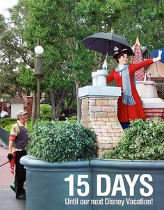 """15 Days until our next Disney Vacation!  We are counting the days to our next Disney trip with our favorite pics taken at the parks. This photo was taken at the Magic Kingdom in Walt Disney World. Let us know if you """"Like"""". #disneyside"""
