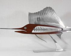 African Pompano 24 by TheWoodenFishMarket on Etsy